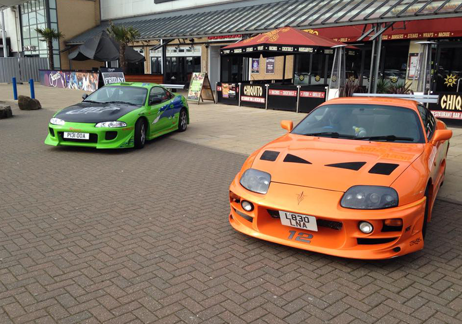 Eclipse and Supra Replica